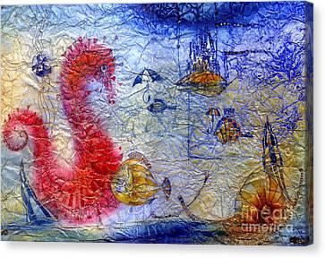 Sea Pegasus Canvas Print by Svetlana and Sabir Gadghievs