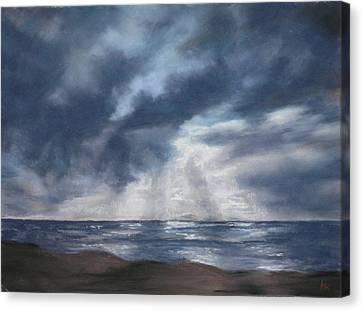 Sea Rays Canvas Print by Marlene Kingman