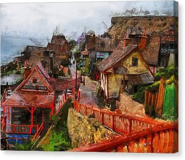 Marcin Canvas Print - Sea Town by Marcin and Dawid Witukiewicz