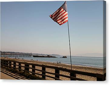 Seacliff Beach Canvas Print