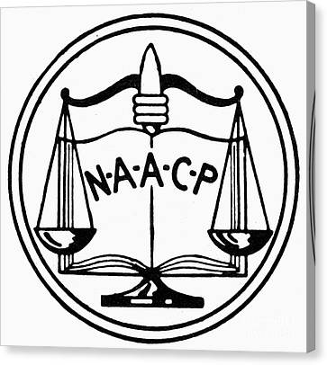 Seal: Naacp Canvas Print by Granger