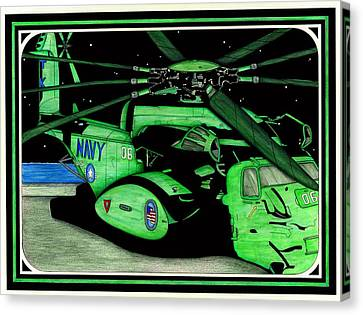Seal Team 6 Canvas Print by Norman Sandow