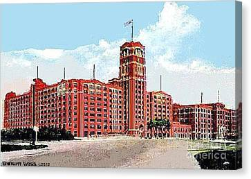 Sears Roebuck And Co. In Philadelphia Pa Around 1940 Canvas Print
