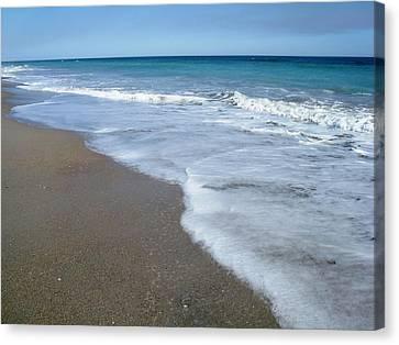 Seascape Wrightsville Beach Nc  Canvas Print