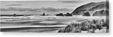Seaside By The Ocean Canvas Print