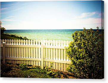 Seaside Retreat Canvas Print by Sara Frank