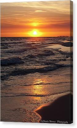 Seaside Serenade I Canvas Print by Charles Warren