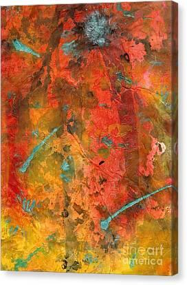 Seasons Of Joy Canvas Print by Angela L Walker