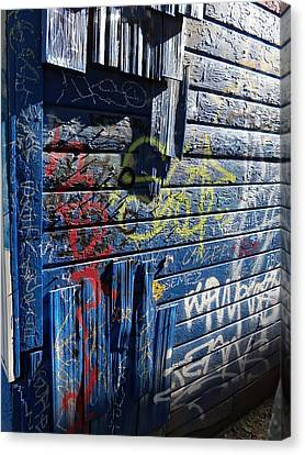 Seattle Graffiti Canvas Print by Randall Weidner