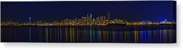 Seattle Moody Blues Canvas Print