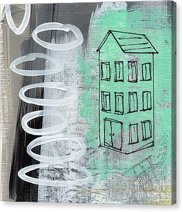 Secret Cottage Canvas Print by Linda Woods