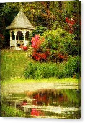 Dogwood Lake Canvas Print - Secret Garden by Darren Fisher