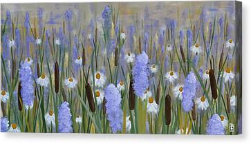 Secret Garden Canvas Print by Holly Donohoe