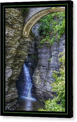 Secrets Of Watkin's Glen Canvas Print by Matthew Green