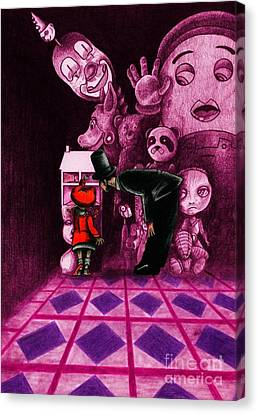 Secrets Canvas Print by Spencer Bower