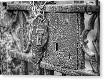 Secured Forever Canvas Print by Heather Applegate