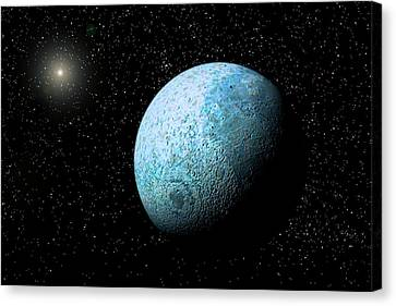 Sedna, Kuiper Belt Object Canvas Print by Christian Darkin