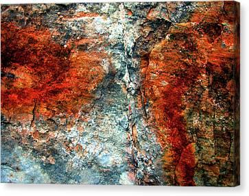Sedona Red Rock Zen 3 Canvas Print by Peter Cutler