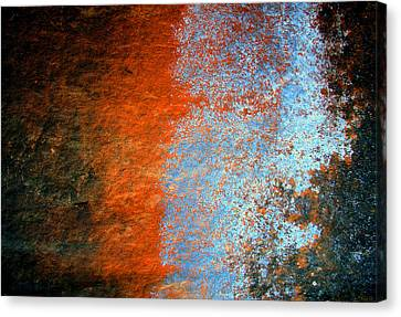 Sedona Red Rock Zen 51 Canvas Print by Peter Cutler