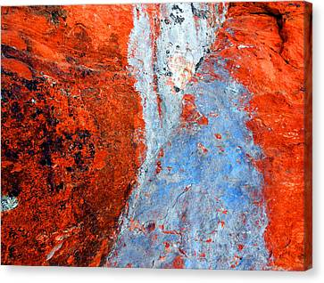 Sedona Red Rock Zen 70 Canvas Print by Peter Cutler