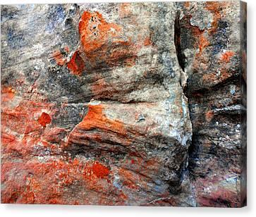 Sedona Red Rock Zen 73 Canvas Print by Peter Cutler