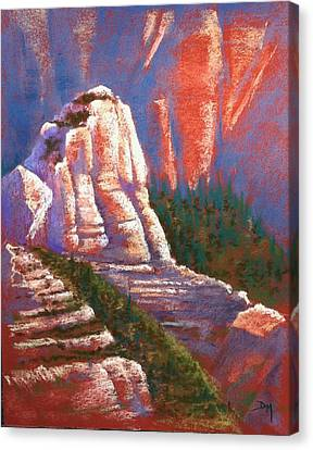 Sedona Rock Canvas Print