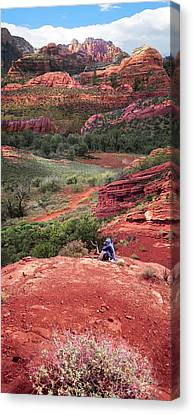Sedona Vortex Canvas Print by Ric Soulen