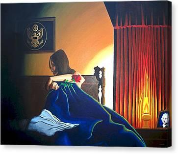 Seduced Canvas Print by Hershel Kysar