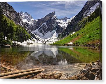Seealpsee Canvas Print by Ceca Photography