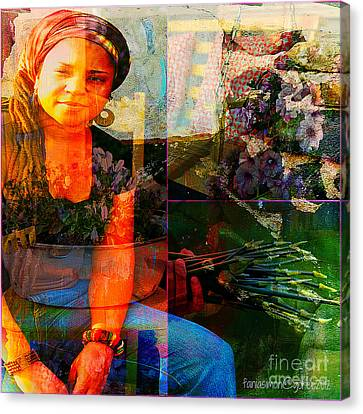 Experience Canvas Print - Self - Growing Inside Out by Fania Simon
