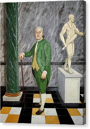 Self Portrait As A French Republican Canvas Print by Howard Bosler