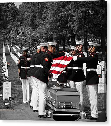 Semper Fi Canvas Print by Lynn Wohlers