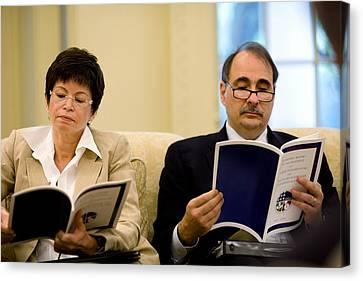 Senior Political Advisors Valerie Canvas Print by Everett