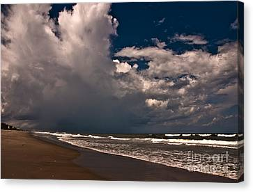 September Beach Canvas Print by Susanne Van Hulst