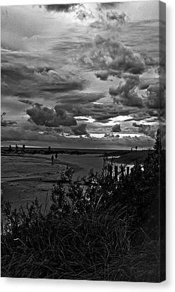 Canvas Print featuring the photograph September Clouds by Randall  Cogle