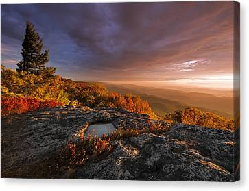 September Dawn Canvas Print by Joseph Rossbach
