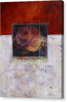 September Rose Canvas Print by Ann Powell