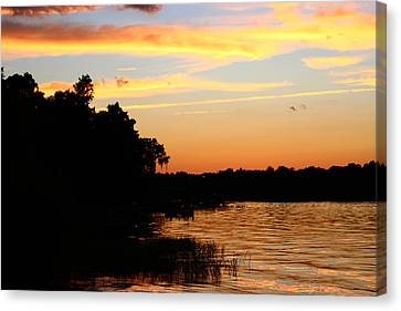 September Sky 12 Canvas Print by Mike Wilber