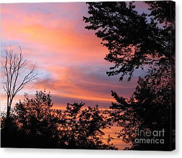 September Sunrise 3 Canvas Print by Cedric Hampton