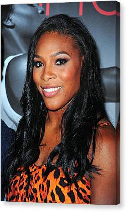 Serena Williams At Arrivals Canvas Print by Everett