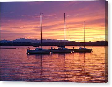 Serene Sunset Canvas Print