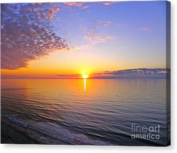 Canvas Print featuring the photograph Serenity by Eve Spring