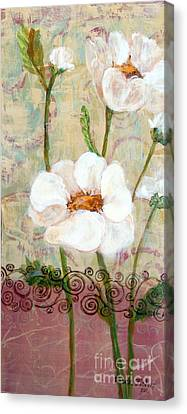 Canvas Print featuring the painting Serenity by Susan Fisher