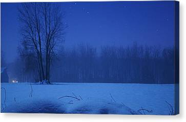 Serenity Canvas Print by Tristan Bosworth