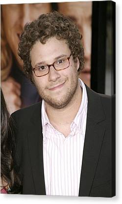 Seth Rogen At Arrivals For You, Me And Canvas Print by Everett