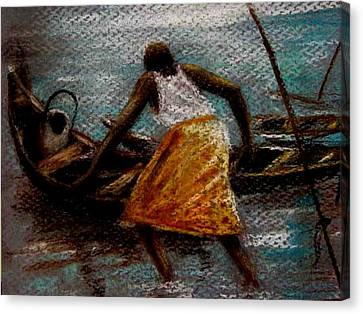 Canvas Print - Setting Out II by Oyoroko Ken ochuko