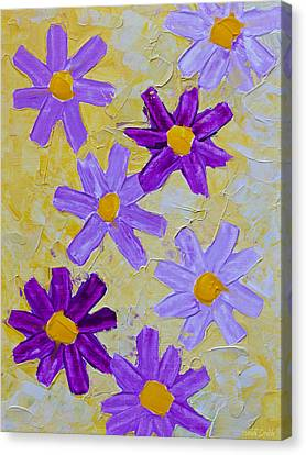 Seven Flowers Canvas Print by Heidi Smith