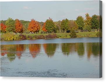 Seven Lakes State Park Mi Canvas Print by Margrit Schlatter
