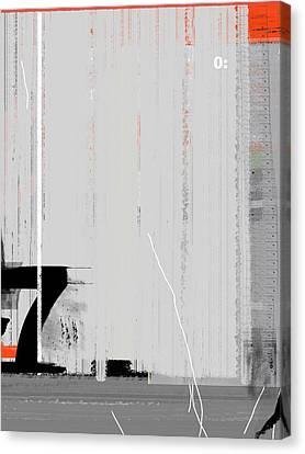 Brush Canvas Print - Seven by Naxart Studio