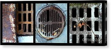 Sew Sewer Sewest Canvas Print by Marlene Burns